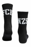 True Rebel Socks FCK NZS Black