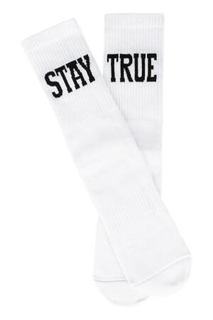 Sixblox. Socks Stay True White Black