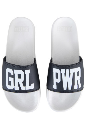 Sixblox. Flip Flops GRL PWR White Black