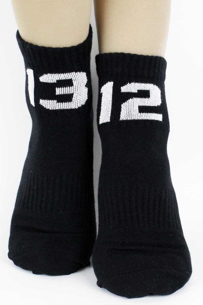 Sixblox. Quarter Socks 1312 Black