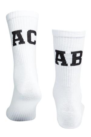 Sixblox. Socks ACAB White Black